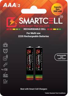 Smartcell AAA Ni-MH Rechargeable 1000mAH  Battery