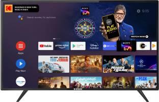 KODAK 7X Pro 108 cm (43 inch) Ultra HD (4K) LED Smart Android TV