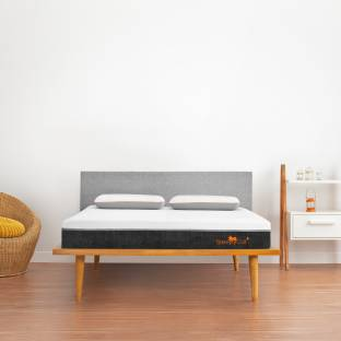 SleepyCat Plus Orthopedic Gel Memory Foam 8 inch King High Density (HD) Foam Mattress