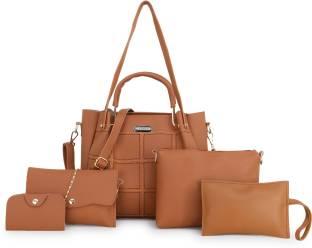 MERIDIAN Women Tan Shoulder Bag