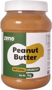 Zeno Health Foods Natural Peanut Butter (Crunchy) (Unsweetened) 1 kg