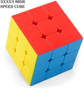 kluzie Extremely Smooth 3x3 Speed Magic Cube Professional Magic Square Cube Puzzle Educational Toys For Children Gift