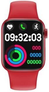 Mobirite HW12 Red Series6 Bluetooth Fitness Smartwatch
