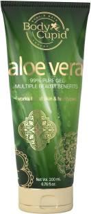 Body Cupid Aloe Vera Gel for Skin and Hair 99% Pure - 200 mL