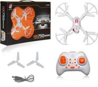 Chardikala HX750 Drone/Quadcoptor Without Camera 2.4 Ghz 6 Channel Remote Control, 1 Key return, 360 d...