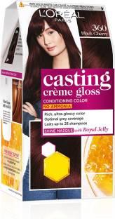 L'Oréal Paris Casting Creme Gloss Hair Color , Black Cherry 360