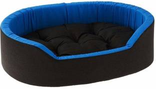 Dogerman Reversible Super Soft Velvet Foam Rectangular Cat Dog Pet Bed S Pet Bed