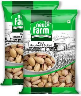 Neu.Farm Pista - Roasted & Salted - Premium Quality - Pistachios - Pack of 2 Pistachios