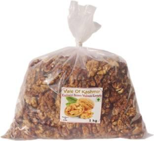 vale of kashmir Kashmiri Walnut Kernels Brown Half Walnuts