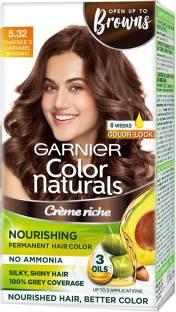 GARNIER Color Naturals Creme , Shade 5.32, Caramel Brown