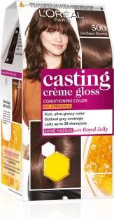 L'Oréal Paris Casting Creme Gloss Hair Color , Medium Brown 500