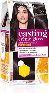 L'Oréal Paris Casting Creme Gloss Hair Color , Ebony Black 200