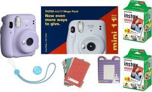 FUJIFILM Instax Mini 11 Bundle Pack (Liliac Purple) with 40 Film shot Instant Camera