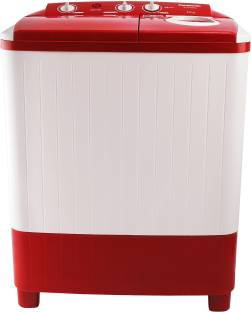 Panasonic 7 kg 5 star Semi Automatic Top Load Red, White