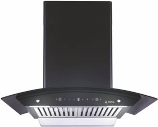 Elica WD BF 606 HAC MS NERO Auto Clean Wall Mounted Chimney
