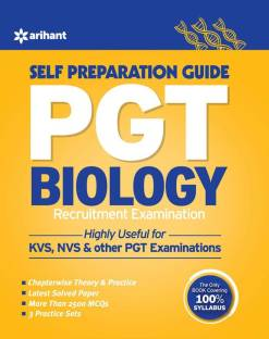 Pgt Guide Biology Recruitment Examination