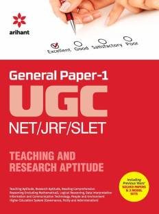 UGC Net/Jrf/Slet General Paper-1 Teaching & Research Aptitude - Including Previous Years Solved Papers & 2 Model Sets