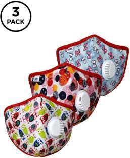 IMPULSE Kids 3 Pcs 5 Layer Masks I95 Kids PO3