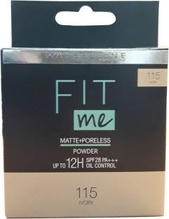 MAYBELLINE NEW YORK FIT me matte+poreless compact powder (IVORY) (115) Compact