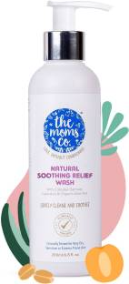 The Moms Co. Natural Soothing Relief Daily Wash for Very Dry, Sensitive, Redness or Rashes Prone Skin