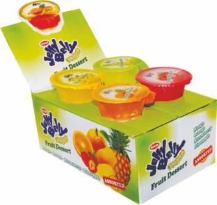 Mahak Jelly Belly Fruit Dessert Box Mango, Orange, Pineapple, Strawberry,apple
