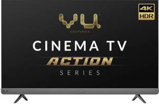 Vu Cinema TV Action Series 139 cm (55 inch) Ultra HD (4K) LED Smart Android TV