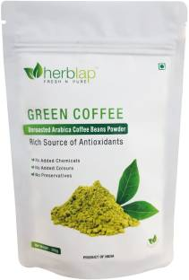 herblap Green Coffee Beans Powder For Weight Loss: 200 G Coffee Beans