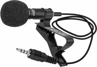 Ubon 3.5mm Aux Clip Microphone CM-55 for Youtube Collar Mic Microphone