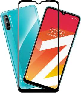 CHVTS Edge To Edge Tempered Glass for Lava Z2