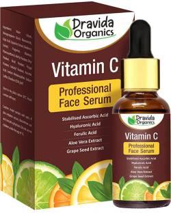 Dravida Organics Professional Vitamin C Serum For Natural Glowing Beauty