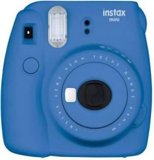 tiddler Fujifilm Instax Mini 9 Body with Single Lens: EF-S18-55 IS STM (16 GB SD Card + Camera Ba Inst...