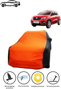 DROMIE Car Cover For Renault Kwid (With Mirror Pockets)