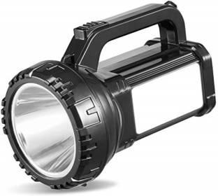 J K SALES 7320 Rechargeable Bright Led Torch Light Laser Long Range Distance High Power Search Light K...