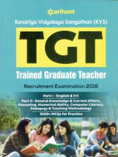 Kvs Tgt and Prt Guide 2018