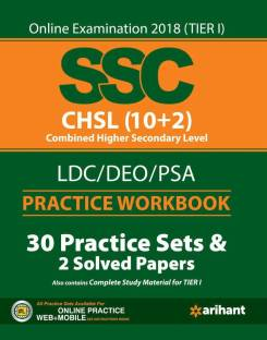 Ssc (10+2) Tier I Practice Workbook - Includes 30 Practice Sets & 2 Solved Papers With Complete Study Material for TIER I