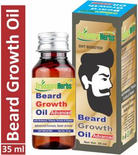 TreasureHerbs Beard Growth Oil - Set of 1 Hair Oil