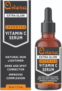 Qwera Vitamin C Serum For Face Whitening With Turmeric And Hyaluronic Acid - Anti Aging Face Serum, Skin Brightening And Repair