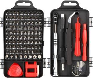 Corslet Portable Screwdriver Set, 110 in 1 Screwdriver Set Mini Multi-Function Precision Screwdriver S...
