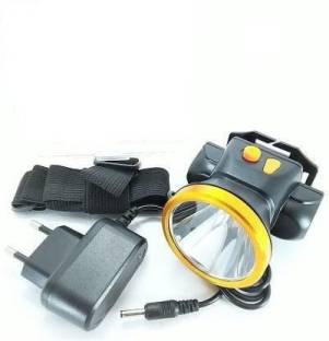 AKR 30W LASER LIGHT : Rechargeable Long Range Head Torch (Black : Rechargeable) Torch