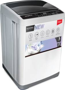 IMPEX 6 kg Fully Automatic Top Load White, Black