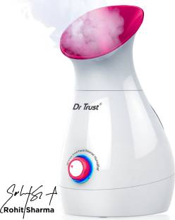 Dr. Trust (USA) Model-905 3 in 1 Electric Nano Portable Ionic face Nose steam Breathing Inhaler facial Water Steamer Parlour Machine for cough & cold relief Home Office Room Air Purifier Humidifier & towel warmer heater Vaporizer