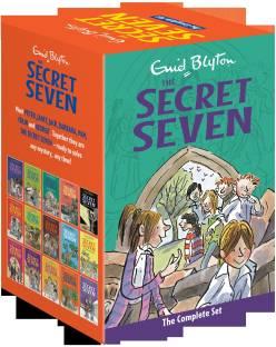 Secret Seven 15 copy box set INDIA