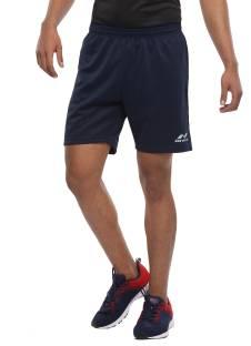 NIVIA Solid Men Blue Sports Shorts