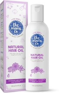 The Moms Co. Natural Baby Hair Oil