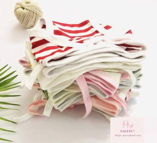 Fareto New Born Baby Super Soft 24 Pcs Nappies   Langots   Cloth Nappies (0-6 Months)