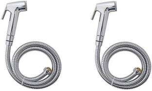 MAYUR OCICH HEALTH FAUCET SET (DURABLE) C.P. WITH 1 MTR TUBE AND HOOK (PACK OF 2) HEALTH FAUCET Health...