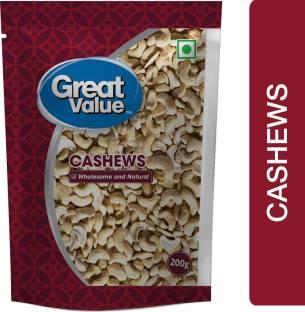 Great Value 2 pcs & Splits Cashews