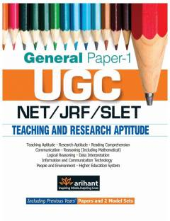 UGC Net/Jrf/Slet General Paper-1 Teaching & Research Aptitude - Including Previous Year's Papers and 2 Model Sets