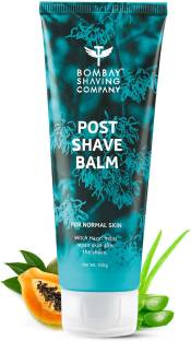 BOMBAY SHAVING COMPANY Post-Shave Balm- After Shave Lotion with Witch Hazel | Alcohol Free | Soothes & Cools Skin (100g ) | Made in India