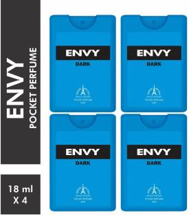 ENVY Dark Pocket Perfume (Pack of 4) Eau de Parfum  -  72 ml
